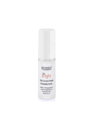 Dermoskin Dermoskin Be Bright Eye Peptide Complex Cream 15ml Renksiz